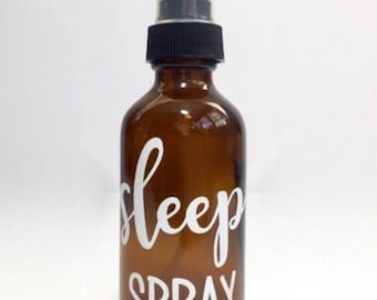 Essential Oil Spray Bottle Labels--Customizable