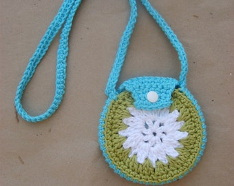 crocheted coin purse PATTERN PDF-FILE