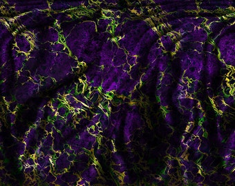 "Wormhole ~Marbled Scarf, 72"" Long~"