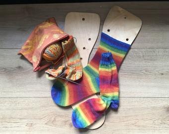 Ladies sock blockers - with airing holes