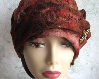 1930s Womens Vintage Hat Pattern PDF Easy To Make Chemo Hair Loss Hat Pattern Instant Download