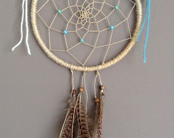 Dream catcher nature Brown and teal