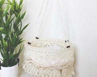 Miniature Crib ( cream or black )