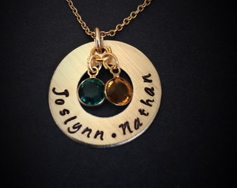 Mommy necklace, new mom necklace, grandmother necklace, personalized mother's necklace, personalized mother's necklace with kids names