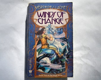 Winds of Change by Mercedes Lackey Vintage 1993 Paperback Book