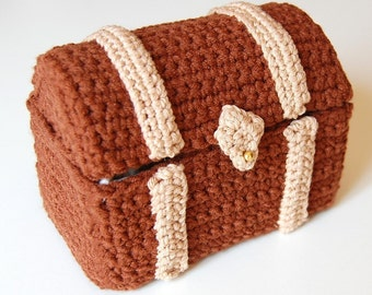 amigurumi pattern - toy chest