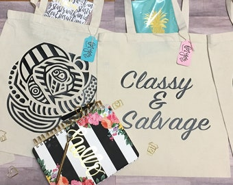 Graphic Tote Bags