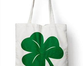Shamrock Ireland St Patricks Day Tote Shopper Bag For Life Irish Shopping E78