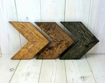 Small Chevron Wall Art Multi-Color Finish, Unique Home Décor, Wall Hanging, Wooden Wall Art, Wooden Chevron, Rustic Wall Décor, Wood Arrow