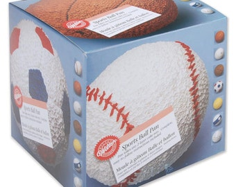Sports Ball 6' Cake Pan -Wilton