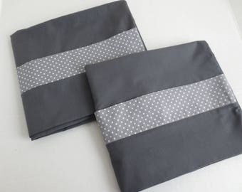 Charcoal Grey Pillowcases  PC597