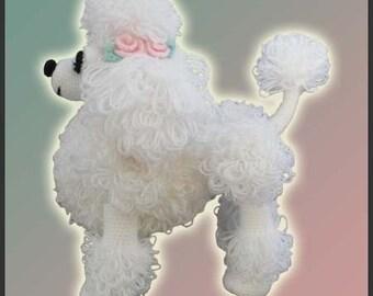 Amigurumi Pattern Crochet Lara Poodle Toy DIY Instant Digital Download PDF