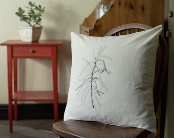 Succulent cushion cover