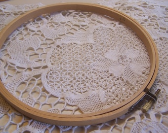 "Size 7"" Wood Embroidery Hoop"