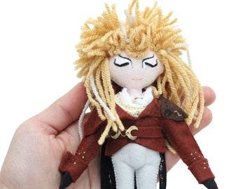 Jareth, The Goblin King art doll, Labyrinth movie, Labyrinth Doll, Fantasy Movie, 80s Classic Movie, David Bowie Doll, Jareth Doll