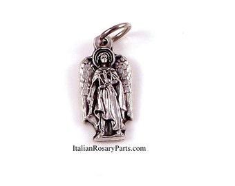 Saint Uriel The Archangel Bracelet Medal Charm | Italian Rosary Parts