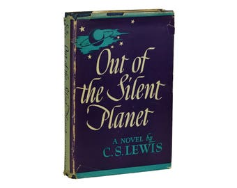Out of the Silent Planet ~ C. S. LEWIS ~ First American Edition ~ 1st ~ 1943 CS