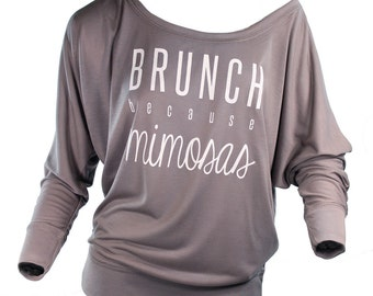 mimosa shirt. brunch shirt. slouchy sweatshirt. mornings are for mimosas. brunch because mimosas. funny shirts for women. graphic tees.