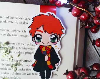 """Magnetic bookmarks """"Ron Weasley"""" - inspired by Harry Potter"""