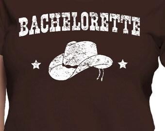 Bachelorette Cowgirl Hat T-Shirt