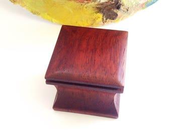Ring box Wedding ring box Wood ring box Engagement ring box Wooden ring box Engagement gift box Wedding box for ring Proposal ring box