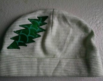 Grateful Dead Baby Hat ~ Green Hat ~ Unisex Baby Hat ~ 3M ~ Lizard Hat ~ Shiny Green Hat