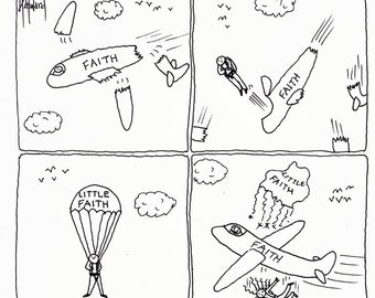 What It's Like to Lose Your Faith CARTOON
