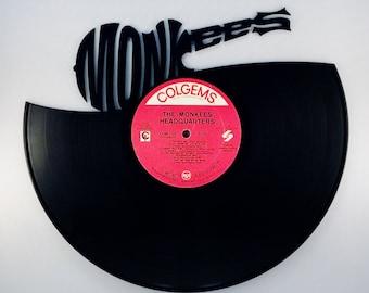 MONKEES Vinyl Record Wall Art