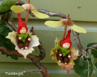Gnome Children - PDF pattern - Instand download