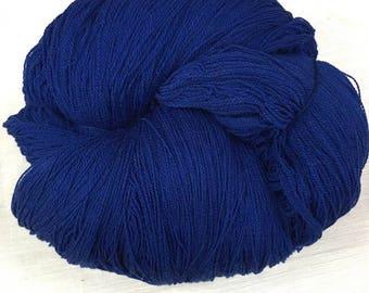 Blue Lace Weight Yarn