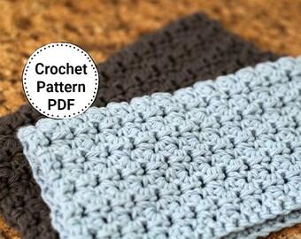 Easy Crochet Dishcloth Pattern, Knitting Pattern, Omaha
