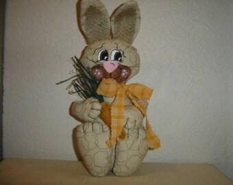 Rabbit Shelf Sitter, (Craft Supply For Center Of Wreath)