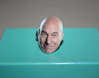Patrick Stewart Ring Celebrity Inspired Jewelry