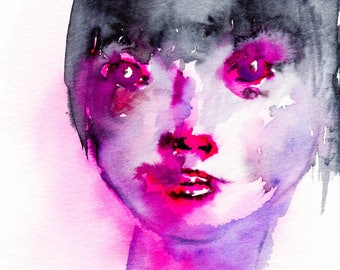 Pink Lady - Impression 13x18 cm