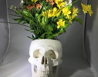Skull Planter