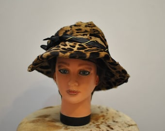 Vintage MINK FUR HAT , women's fashion fur hat...............(018)