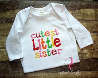 Little Sister Shirt - Little Sister Dress, Little Sister , Little Sister Gown, Little Sister Outfit, Little Sister Big, Sibling Shirts