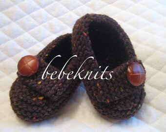 Baby Boy Loafer Style Slippers