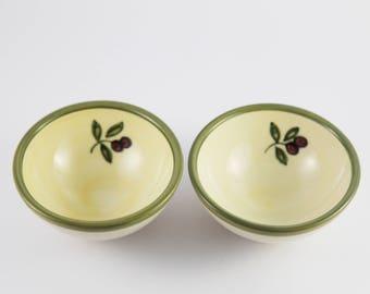 Vintage Portuguese Bowls , Secla Portugal , Mixing Bowls