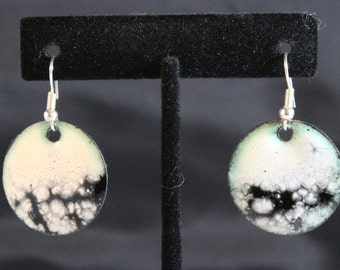 Enameled Copper Earrings (022017-031)