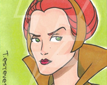 Teela Original Sketch Card