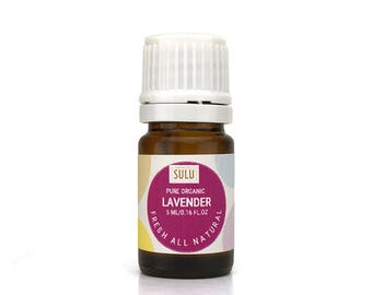 100% Pure and Natural Therapeutic Grade Lavender Essential Oil