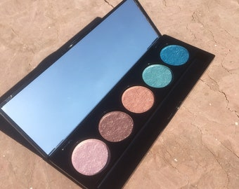 Create Your Own 5-Eyeshadow Palette