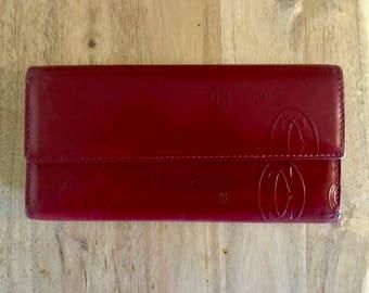 Vintage CARTIER tri-fold wallet