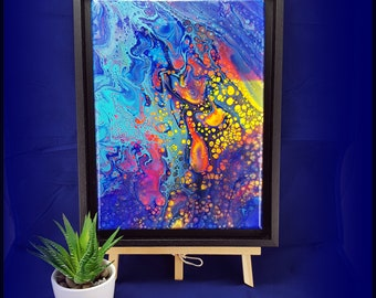 Original Abstract Acrylic Painting 'Escape'