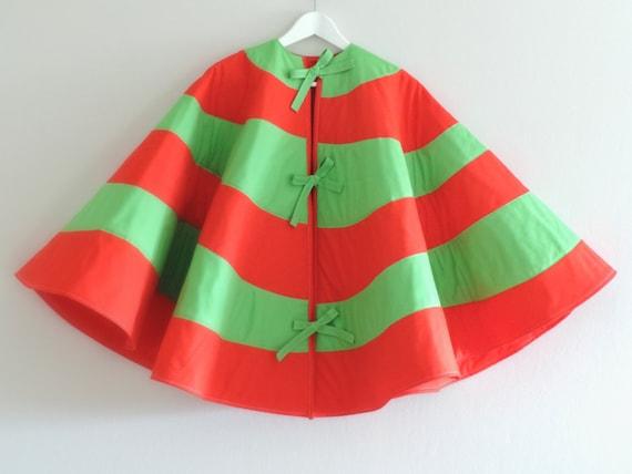 2018 PRE-ORDER: Seuss Christmas Tree Skirt - Striped, Dr Seuss Inspired - Red White & Lime Green Shown - 3 Sizes, 25 Colors - Ships Nov 2018