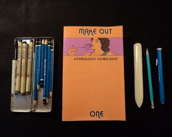 Make Out: Anthology Comiczine One // mini comic // zine // illustration // print