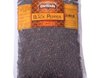 Whole Black Peppercorns by It's Delish