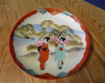 Nippon decorative plate