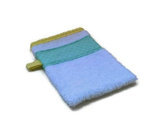 White Terry washcloth